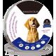 Naturligt loppe- og flåthalsbånd til hund